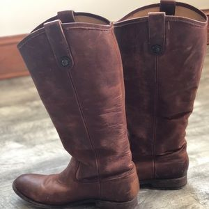 Melissa button FRYE boots
